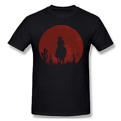 de447e3eb47 Amazon.com  Conelia Unisex T-Shirt Red-Dead-Redemption