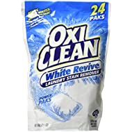 OxiClean White Revive Stain Remover Power Paks, 24 Count