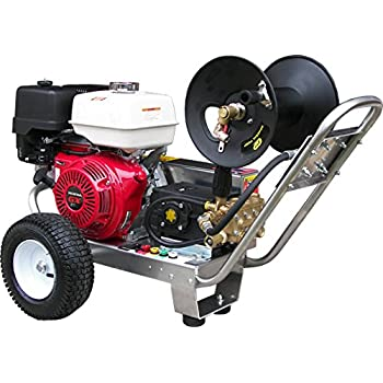 Captivating Belt Drive Pressure Washer With Honda GX390 4,000 PSI 4.0 GPM