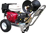 Belt-Drive Pressure Washer with Honda GX390 4,000 PSI 4.0 GPM For Sale