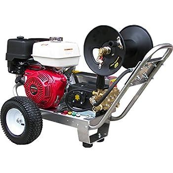 Amazon.com : Belt-Drive Pressure Washer with Honda GX390 4, 000 PSI 4.0 GPM : Garden & Outdoor