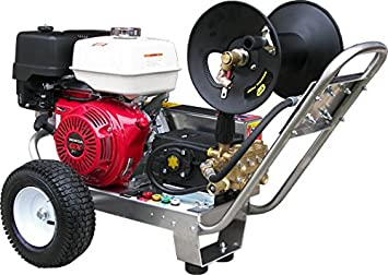 Amazoncom BeltDrive Pressure Washer with Honda GX390 4 000 PSI
