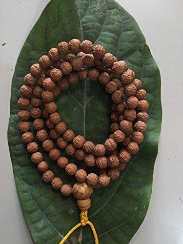 (Tibetan phoenix eye 108 small raktu bodhi seed mala/prayer beads/free mala)