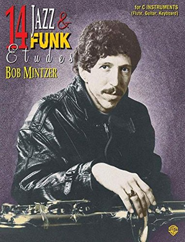 14 Jazz & Funk Etudes for C Instruments with CD (Audio)