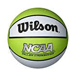 Wilson Killer Crossover Basketball, Lime/White, Youth 27.5-Inch