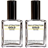 Max Attraction Gold for Men - Pheromones to Attract Women (2 Bottles Special Offer Discount)