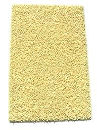 Soft Yellow - 3\'x5\' Custom Carpet Area Rug