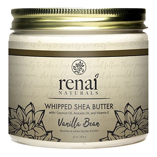Vanilla Bean Whipped Shea Butter (16 oz) Review
