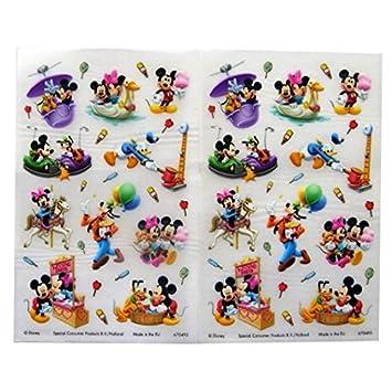 Mickey Mouse y sus amigos - Pegatinas de Colores de Transferencia ...