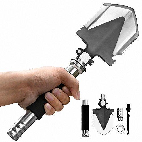 Pocket Knife, ProCIV Mini Military Folding Survival Tactical Shovel, Multifunctional Backpacking Shovel for Camping Outdoors (Rescue Axe)