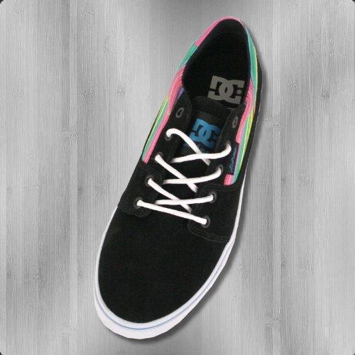 DC Shoes Damen Schuh Bristol LE black multi - fällt halbe Nr kleiner aus Black Multi