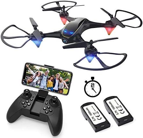 EACHINE E38 Drones con Cámara para Adultos