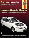 Saturn L-series: 2000 thru 2004 - All models - Based on complete teardown and rebuild (Haynes Repair Manual)