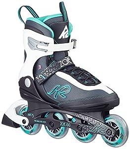 K2 Damen Inline Skate Zoe 80, Mehrfarbig, 9.5, 30A0728.1.1.095
