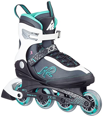 K2 Damen Inline Skate Zoe 80, Mehrfarbig, 7.5, 30A0728.1.1.075