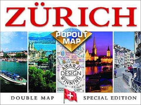 Zurich Popout Map: Double Map : Special Edition (Europe Popout Maps)