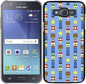 Funda carcasa para Samsung Galaxy J7 diseño estampado mario ...