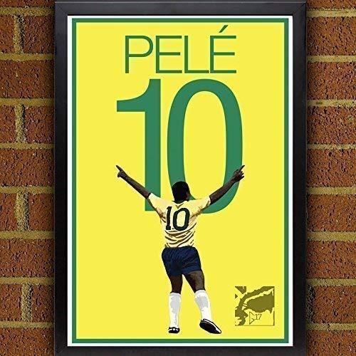 Pele Poster - Brazil Soccer Art