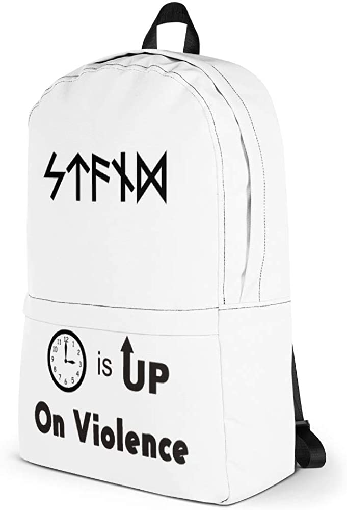 Time is Up on Violence Backpack