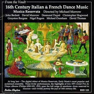 16th Century Italian & French Dance Music