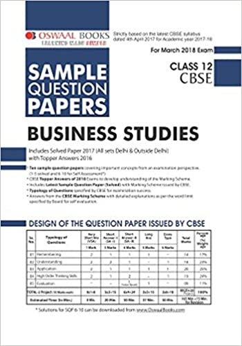 Oswaal cbse sample question papers for class 12 business studies mar oswaal cbse sample question papers for class 12 business studies mar2018 exam amazon panel of experts books malvernweather Gallery