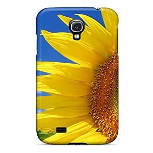 GnY1780Untk Whcases Awesome Case Cover Compatible With Galaxy S4 - Sunflower