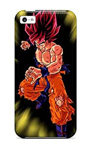 Leana Buky Zittlau's Shop Best New Fashionable Cover Case Specially Made For Iphone 5c(super Saiyan Goku)