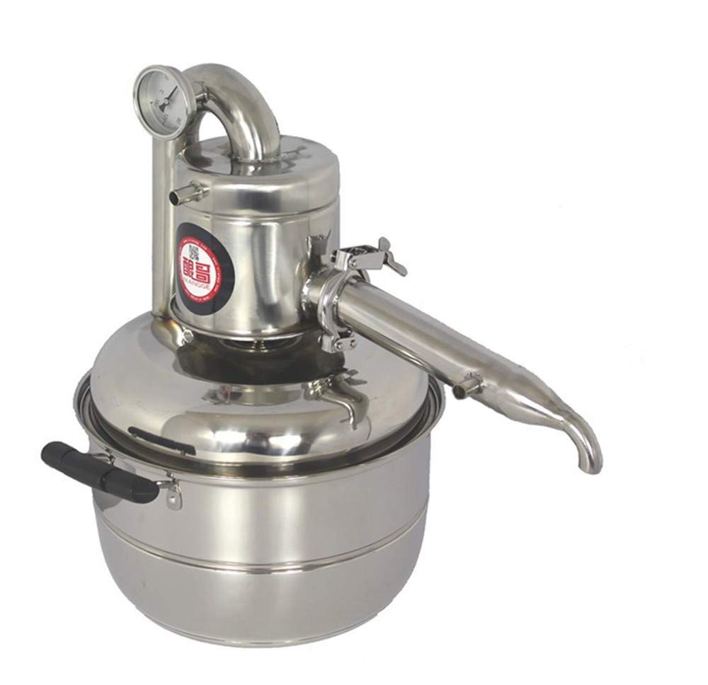 stainless steel 10L new Home use wine brewing machine Wine distiller make wine and flower oil yourself