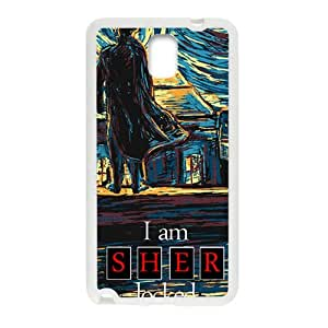 Sher locked Cell Phone Case for Samsung Galaxy Note3