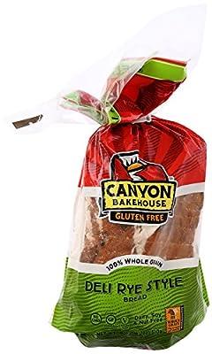 Canyon Bakehouse Bread Deli Rye Gf 18oz