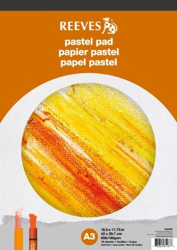 REEVES 8490666 Block Pastellpapier A3