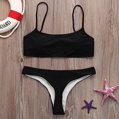 Push Costume Piscina Nero Spiaggia Sexy Donna Fascia Brasiliana Mare Bagno up Costumi Sumtter Bikini A qW06ZBzAA