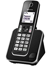 PanasonicDigital Cordless Phone, Titanium Black(KX-TG2512CXT)