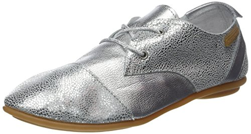 Pataugas Swing/S, Zapatos de Cordones Derby para Mujer Argent (Argent)