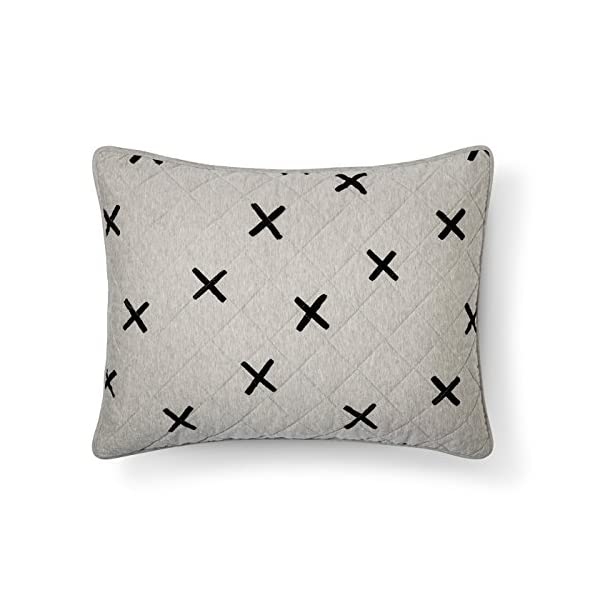 Pillowfort-Soft-Jersey-X-Marks-the-Spot-Standard-Pillow-Sham-Gray
