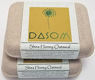 DASOM Gardeners Hand 4oz Organic Bar Soap, Face and Body Soap, For Women, Men and Teens. For All Skin Type. Certified Organic (Made in USA-Montana)