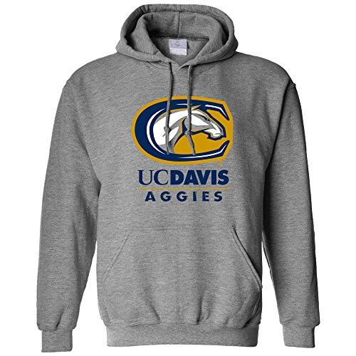 NCAA UC Davis Aggies Long Sleeve Hoodie, X-Large, Athletic Heather