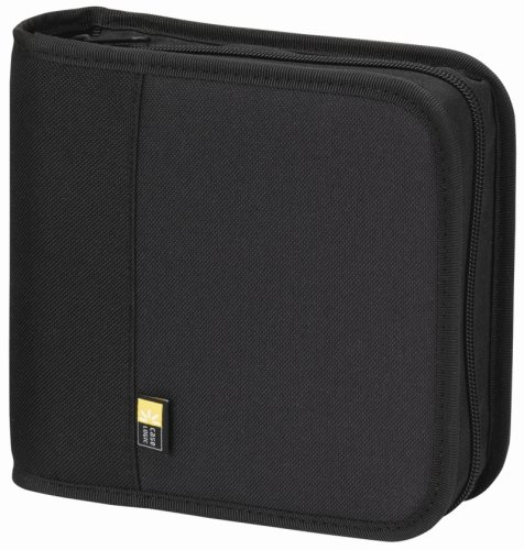 Case Logic BNW-24 Polyester CD/DVD Wallet 24 Capacity