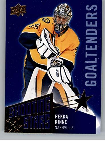 2018-19 Upper Deck Shooting Stars Goalies Hockey Card #SSG-6 Pekka Rinne Nashville Predators Official UD Trading Card ()