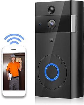 Indoor Music Box Wireless Smart WiFi DoorBell IR Video Visual Camera Intercom