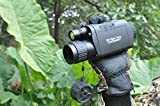 Bestguarder WiFi Digital Night Vision Monocular, 3.5-10.5 x 32 HD Infrared Telescope with 1.5'' TFT LCD, 350m/1150ft Range, Support Day/Night IR