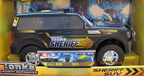 Tonka MOTORIZED HP-32 SHERIFF SUV VAN Vehicle 12
