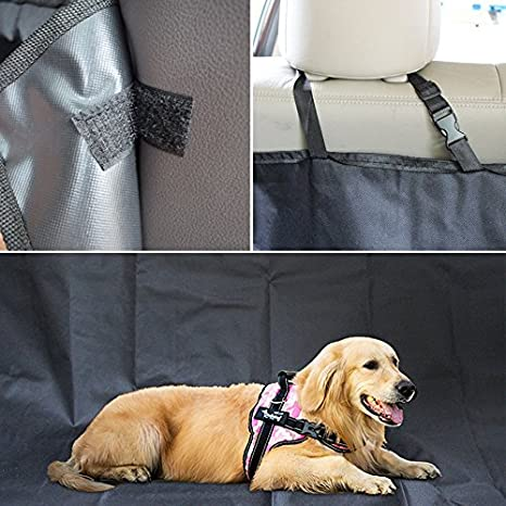PETCUTE Protection Coffre Voiture Chien Tapis de Coffre pour Chien Housses de Voiture pour Chiens Protege Siege Voiture