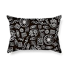 Geometry Pillow Shams Best For Bar Boy Friend Family Festival Father Kitchen 18 X 26 Inches / 45 By 65 Cm(two Sides)