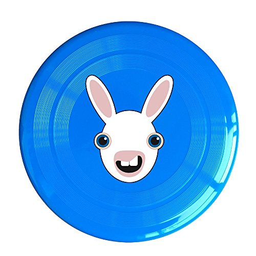 Logog 8 Custom Design Of The Cute Smile Rabbit Face Plastic Disc RoyalBlue Diameter - Myers Kids Fort With