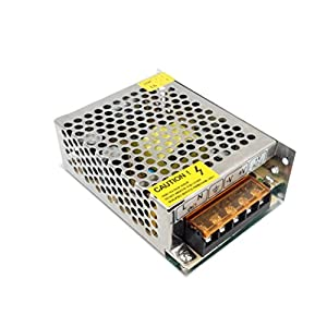 PHEVOS 12v 30A Dc Universal Switching Power Supply brass core material transformer 360w for 3D Printer, CCTV, ham Radio Transceiver, Car Audio Amplifier, Computer Project and LED Strips by PHEVOS INC