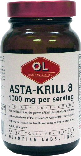 Olympian Labs Asta-Krill 8, 30 Portions