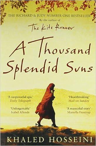 A Thousand Splendid Suns [Paperback] [May 31, 2013] KHALED HOSSEINI: KHALED  HOSSEINI: 9781408844441: Amazon.com: Books