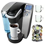 Keurig Platinum B70 Gourmet Single-Cup Home-Brewing System bundle
