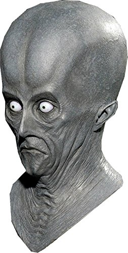 [Creeton Resurrection Alien Latex Roswell Adult Halloween Costume Mask] (Halloween Resurrection Costume)